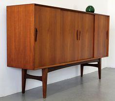 Danish Cabinet.    Interior / Home / Decor / Design / Furniture / Accessories / Contemporary / Transitional / Modern