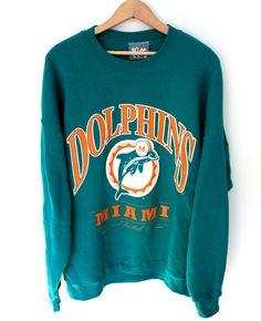 Vintage Miami Dolphins Crewneck 34d6eb4b2