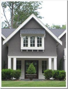 Pratt & Lambert Wendigo for a dark gray exterior by sondra Gray house exterior House paint exterior Exterior house paint color combinations
