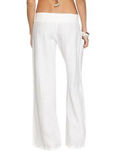 linen pants Swim Cover Ups, Beach Covers, Linen Pants, Pajama Pants, Pajamas, Sweatpants, Fashion, Pjs, Moda