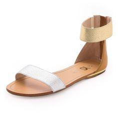 Yosi Samra Cambelle Flat Sandal