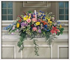 church floral arrangements for altars - Google Search