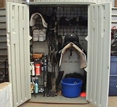 rubbermaid tack closet - this is so cool, apparently you buy the interior system then install it in your choice of site.