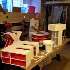 Fabricando las letras para TEDx.