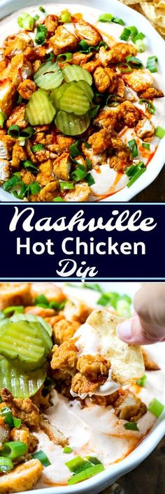Nashville Hot Chicken Dip
