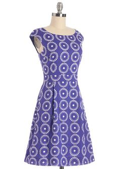 Rowing on a Picnic Dress | Mod Retro Vintage Dresses | ModCloth.com