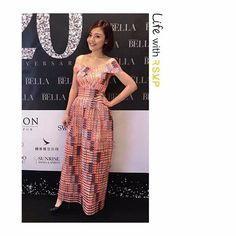 """22 Likes, 3 Comments - RSVP Clothing (@rsvpclothing_) on Instagram: """"Life with RSVP  Thanks  @menghui  wearing our RSVP dress attend Citta Bella 20th Anniversary Party…"""""""