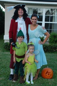 THe Peter Pan family. So cute