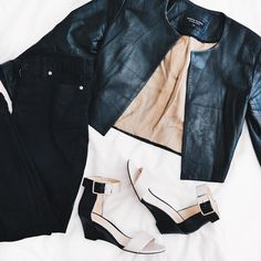 Melbourne why are you so cold?!  Out come the warmer items again! (Minus the shoes ) #ootd #wiwt #outfitoftheday #whatiworetoday #whatiwore #fashion #style #lookoftheday #lookbook #fashionblogger #ootdshare #instastyle #styleblogger #wiw  #love #fashiondiaries #leather #ninewest #instafashion #ootdshare #bbloggerau #bblogger #lblogger #fbloggerau #fblogger #lbloggerau #australianblogger #itsthattimefor