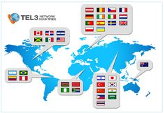 More than 30 countries are part of the #Tel3 network, call your relatives on the lowest rates. http://www.tel3.com/