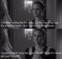 Blair quote, their life is perf can i marry chuck