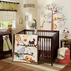 Treetop Buddies 4 Pc Bedding Set by Lambs & Ivy
