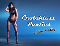Crotchless Panties by Trixx Intimates