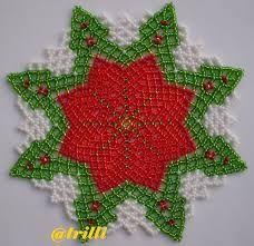 Resultado de imagen para free seed bead patterns for doilies