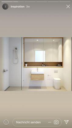 - - #badezimmerideen Minimalist Toilets, Minimalist Small Bathrooms, Bathroom Design Small, Bathroom Interior Design, Girl Bathrooms, Downstairs Bathroom, Bathroom Renovations, Bathroom Inspiration, Sweet