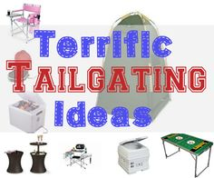 Whether you're tailgating before a concert, professional sporting event or your own child's activities,make sure you are well-prepared with these tailgating products. | #Ad