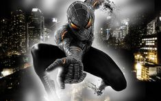 Spiderman black... coming soon