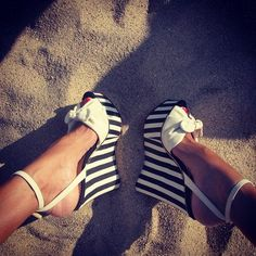 Summer wedge ✦《♡》✦