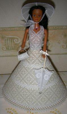 .modèle Adèle Miller,  réalisation mamieperga