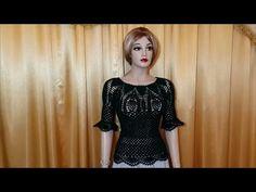 Crochet blouse for summer – Crochet summer top - YouTube