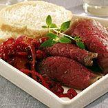 Gravet rådyrfilet med  tyttebærmarmelade - Oppskrifter Mad, Beef, Dishes, Meat, Tablewares, Dish, Signs, Steak, Dinnerware