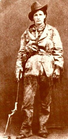 Martha Jane Canary (1852-1903), better known as Calamity Jane, was an American frontierswoman, and professional scout best known for her claim of being an acquaintance of Wild Bill Hickok, but also for having gained fame fighting Native Americans.