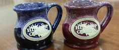 """Have these at our local """"Another Broken Egg"""" and I want them! I'll get some eventually. Vintage Farmhouse, Farmhouse Decor, Broken Egg, Grand Marais, Egg And I, B & B, Trip Planning, Michigan, Pottery"""