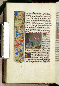 Book of Hours, MS M.6 fol. 142v - Images from Medieval and Renaissance Manuscripts - The Morgan Library & Museum