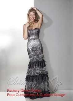 Sweetheart Unique Prom Dress With Sequin (FPD0533) | Cheap Custom Made prom dresses on Sale at hiweddingdress.com