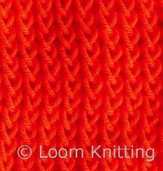 Basic loom knitting stitch ideas (Some I've never seen!)