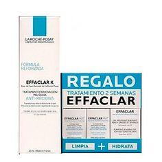 La Roche Posay Effaclar K, 30ml + REGALO Tratamiento 2 Semanas Effaclar Gel, 15ml+ 2xEffaclar K, 2x5ml #larocheposay #salud #cuidado #skin #piel #gel #pielsensible