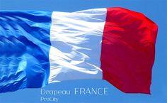Drapeau FRANCE, 60x90 à 200x300 cm, ProCity