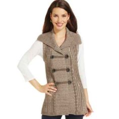 f8dd8fc2c6 Cable-Knit Sweater Vest Sweater Layering