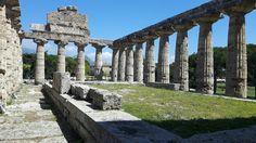 Tempio detto di Cerere, di Athena. Fine VI sec. a.C. Paestum