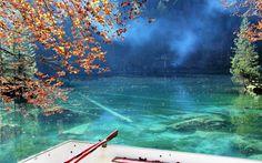 Natur pur findet man am Schweizer Blausee. Foto: © sanniely / iStock / Thinkstock