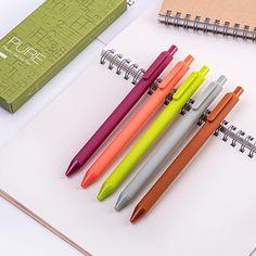 Teacher Supplies, School Supplies, Gel Ink Pens, Cute Planner, Cute Notebooks, Planner Supplies, Cute Stationery, Brush Pen, Macarons