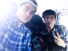 Luke and Jai