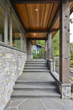 Wood Soffit On Pinterest Custom Wood Home Exteriors And