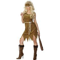 Costum adult, dama,  Femeia Cavernelor