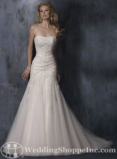 SO pretty! Bridal Gowns Maggie Sottero  Anniston Bridal Gown Image 1