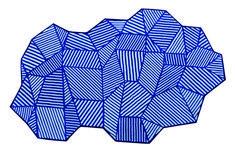 Collection de tables basses PENROSE imaginées par ICH&KAR, pattern, mathématiques, design, origami et couleur pour Bazartherapy