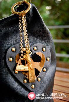 Lucky charm for your bag. Lucky Charm, You Bag, Charmed, Leather, Bags, Collection, Handbags, Bag, Totes