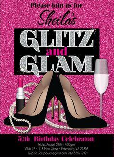glitz and glam -