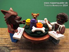 """A homage to Cassius Marcellus Coolidge's """"Dogs playing poker"""""""