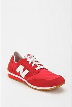 Red New Balance 301 Sneakers.  Love these. My dad wore these in blue when I was a kid.