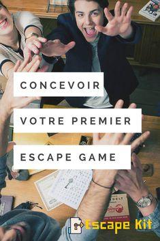 Concevoir votre premier scénario d'Escape Game à la maison. Escape Room DIY. Escape Game à domicile pour un anniversaire pour enfants ou ados.