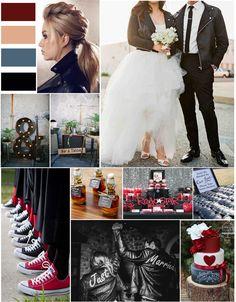 Envie d'un mariage rock et décalé, ce thème est fait pour vous ! Wedding Event Planner, Rock, Inspiration, Design, Envy, Wedding Planner, Beautiful Moments, Photo Galleries, Biblical Inspiration