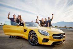 Fill in the blank: First time I was at a race track, I felt______. [Combined fuel consumption: 9.6-9.4 l/100km | CO2 emission: 224-219 g/km | http://amg4.me/Efficiency-Statement]