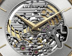 The L.U.C XP Skeletec #watch epitomizes the philosophy of essentials