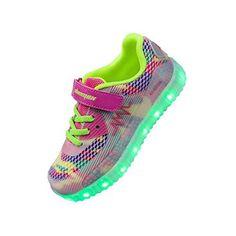 Oferta: 39.99€. Comprar Ofertas de Shinmax Primavera-Verano Nueva lanzó Kid Led zapatillas de deporte de los zapatos de 7 colores LED con el certificado del CE barato. ¡Mira las ofertas!